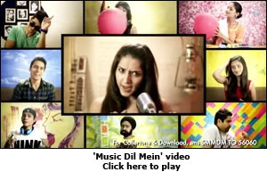 'Music Dil Mein' video