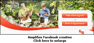 Amplifon Facebook creative
