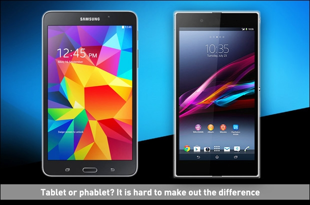 Tablet vs phablet