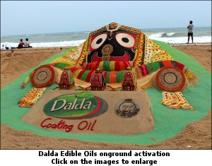 Dalda Edible Oils onground activation