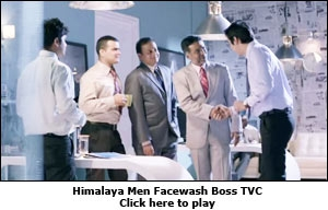 Himalaya Men Facewash Boss TVC