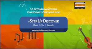 Step Up, Discover campaign