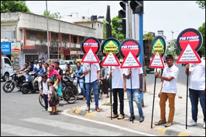 Roadsense campaign from TVS TYRES