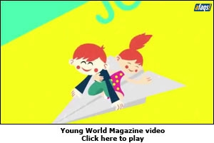 Young World Magazine video