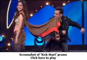 Screenshot of 'Kick Start' promo