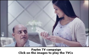 Paytm TV campaign