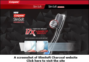 SlimSoft Charcoal website