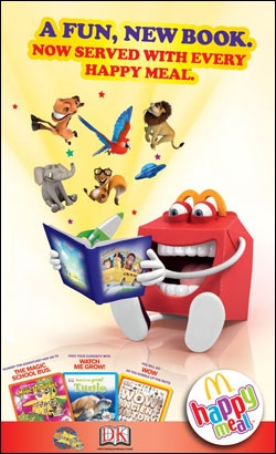 Happy Meal Books from McDonald's