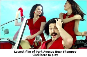 Launch film of Park Avenue Beer Shampoo