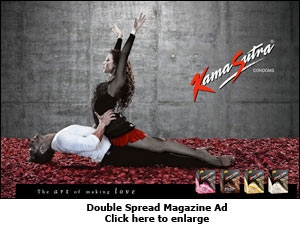 Double Spread Magazine Ad