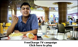 FreeCharge TV campaign