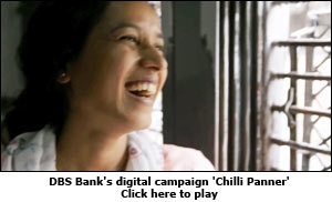 DBS Bank's digital campaign 'Chilli Panner'