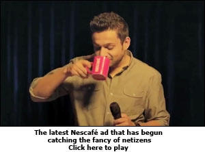 The latest Nescafe ad that has begun catching the fancy of netizens