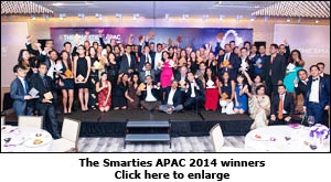 The Smarties APAC 2014 winners