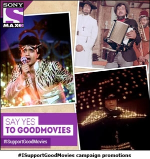 #ISupportGoodMovies campaign promotions