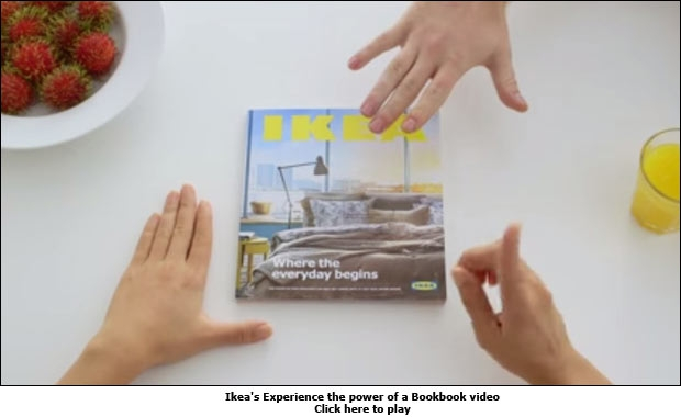 Ikea's Experience the power of a Bookbook video