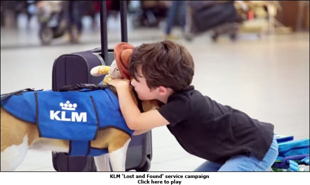 KLM 'Lost and Found' service campaign
