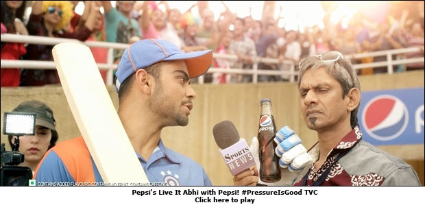 Pepsi's Live It Abhi with Pepsi! #PressureIsGood TVC