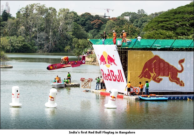India's first Red Bull Flugtag in Bangalore