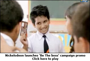 Nickelodeon launches 'Be The boss' campaign promo