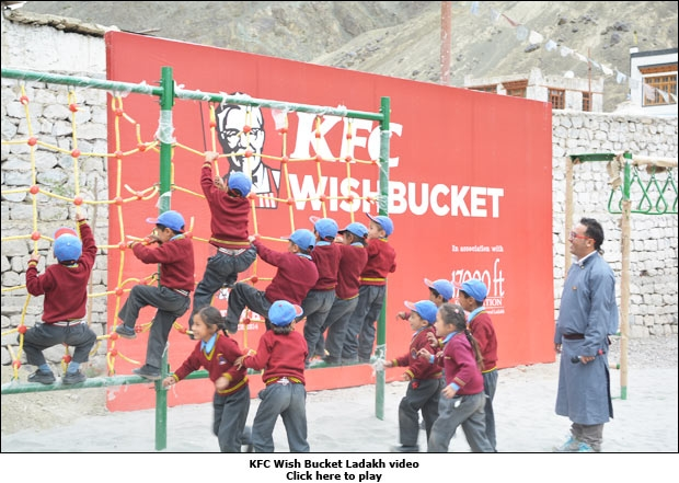 KFC Wish Bucket Ladakh video