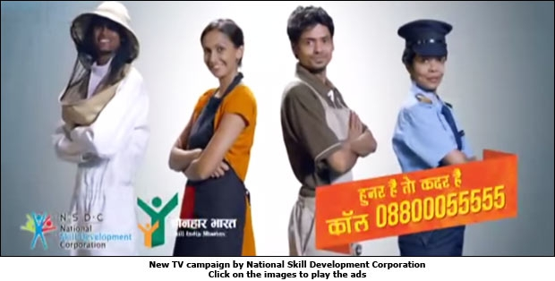 New TV campaign by National Skill Development Corporation