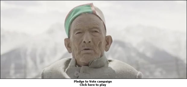 Pledge to Vote campaign