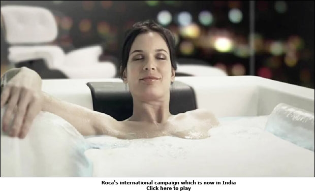 Roca's international campaign which is now in India
