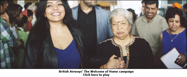 British Airways' The Welcome of Home campaign