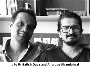 L to R: Satish Desa and Anuraag Khandelwal