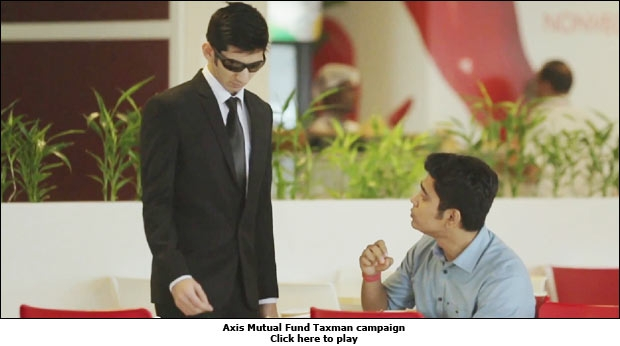 Axis Mutual Fund Taxman campaign