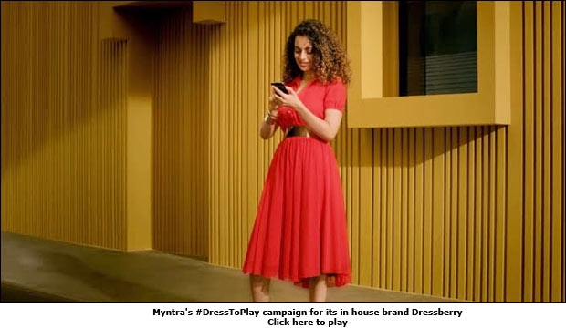 Myntra's #DressToPlay campaign for its in house brand Dressberry