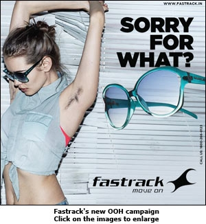 Fastrack's new OOH campaign