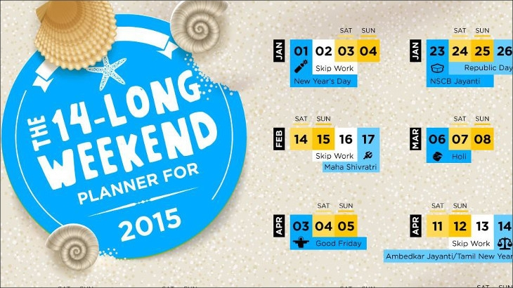 Sterling Holidays - Long Weekend Planner