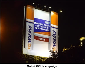Volini OOH campaign
