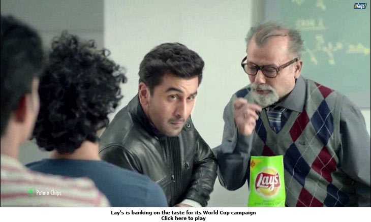 Lay's is banking on the taste for its World Cup campaign