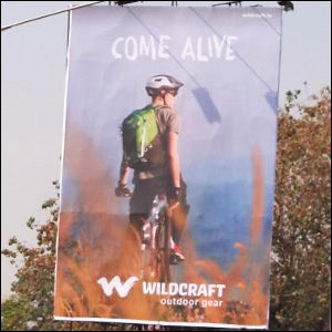 Wildcraft's first OOH campaign