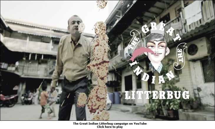 The Great Indian Litterbug campaign on YouTube