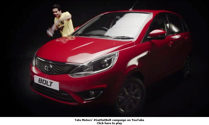 Tata Motors' #GetSetBolt campaign on YouTube
