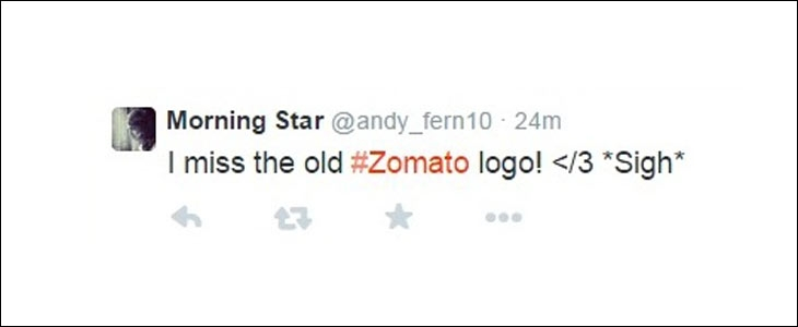 Twitter reaction over Zomato's new logo design with the spoon