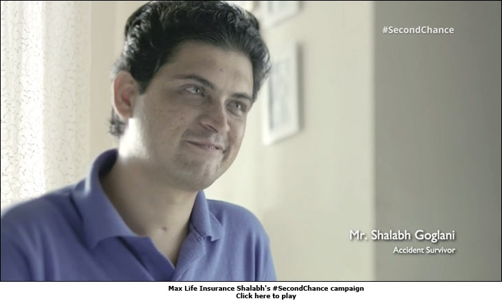 Max Life Insurance Shalabh's #SecondChance campaign