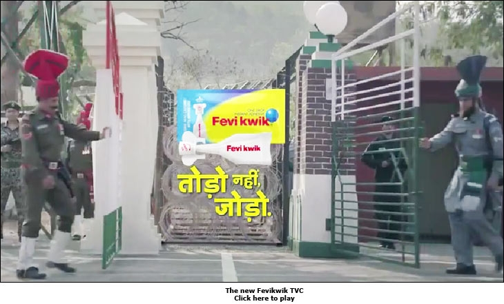 The new Fevikwik TVC