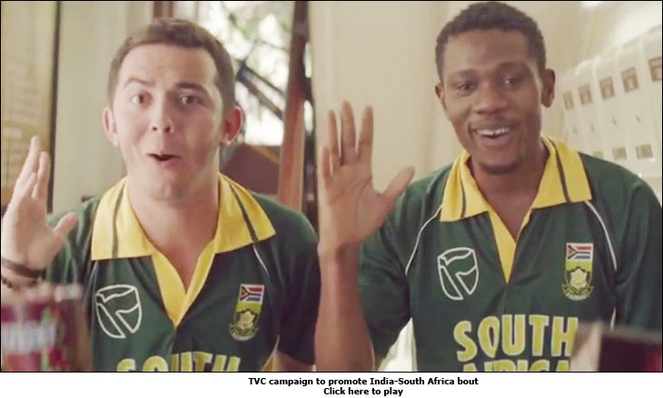 TVC campaign to promote India-South Africa bout