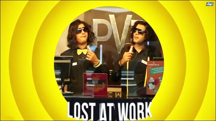 Lost at Work onground activation by Cadbury 5 Star