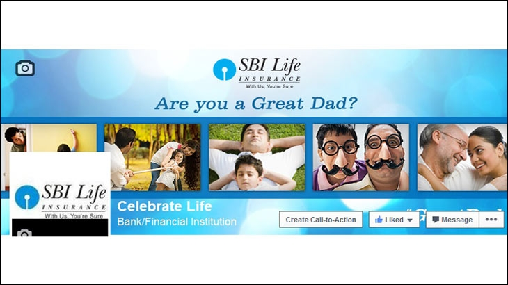 SBI Life Great Dad Moments social media campaign