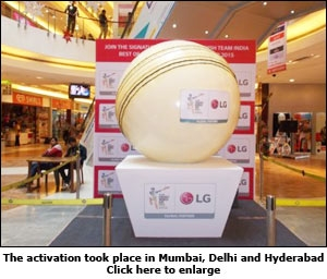 The activation took place in Mumbai, Delhi and Hyderabad