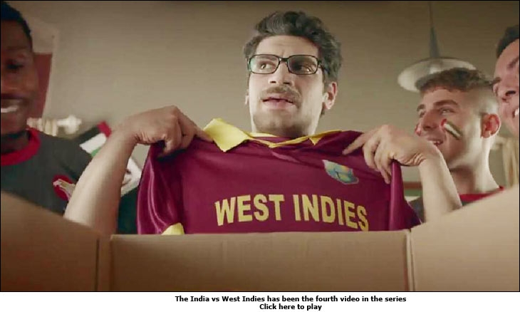 The India vs West Indies has been the fourth video in the series