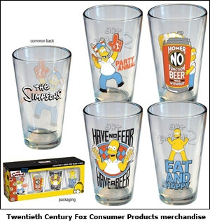 Twentieth Century Fox Consumer Products merchandise