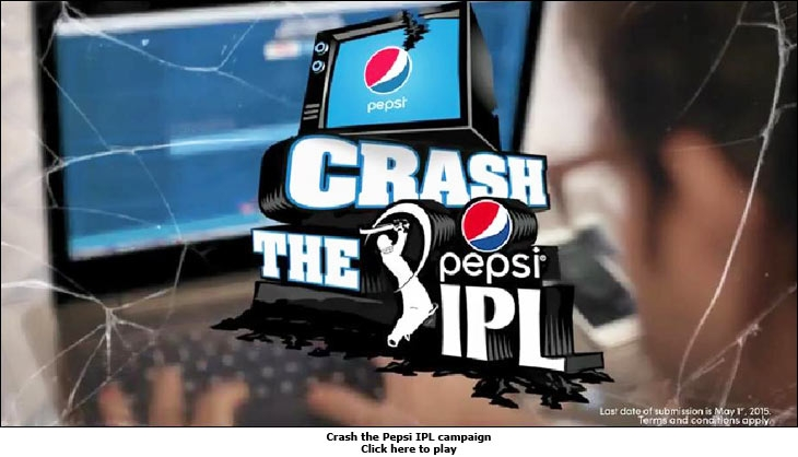 Crash the Pepsi IPL campaign