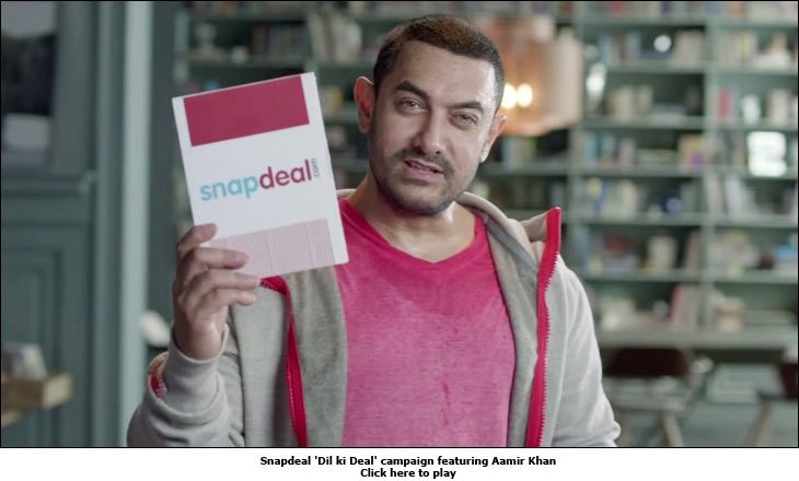 Snapdeal 'Dil ki Deal' campaign featuring Aamir Khan